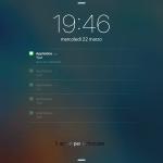 Defluxit applica un effetto di dissolvenza sulle notifiche nello schermo di blocco
