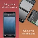 Six (LS) attiva l'interfaccia grafica di iOS 6 per la Lockscreen di iPhone