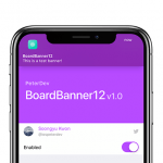 BoardBanner12 integra la notch di iPhone nel banner di notifica