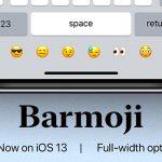 BarMoji attiva una barra dedicata alle emoji nella tastiera di iPhone
