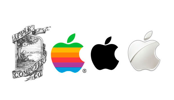 Logos de Apple a lo largo de la historia