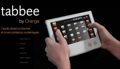 il tablet di Orange