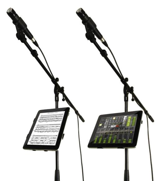 Con iKlip iPad è pronto a salire sul palcoscenico