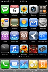 Five Icon SpringBoard