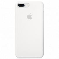 Originální silikonový kryt pro Apple iPhone 8 Plus / 7 Plus - bílý