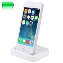 Dokovací stanice pro iPhone 5 / 5S / SE - bílá - TOP kvalita