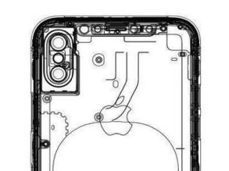 iPhone 8 duální přední fotoaparát