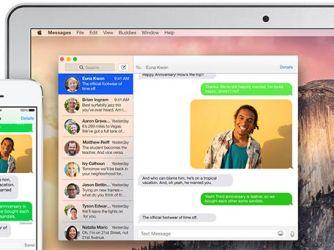 SMS na Macu