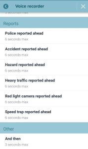 aplikace navigace