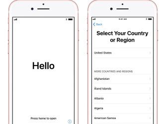 Jak nastavit nový iPhone