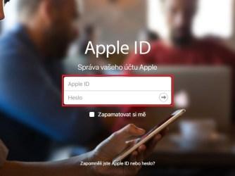 Jak změnit e-mail k Apple ID