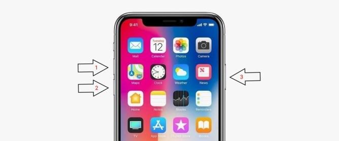 iPhone X - blocat