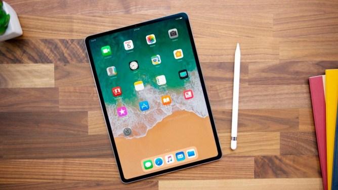 Bezrámčekový iPad Pro 2018