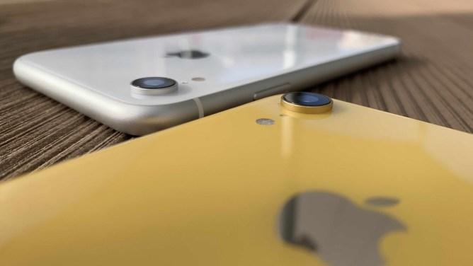 iPhone XR - aparat de fotografiat