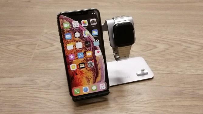 Hliníkový stojánek - iPhone, Watch, AirPods