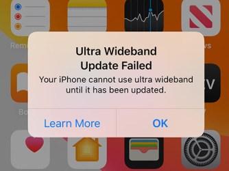 Problémy s AirDrop na iPhonu 11 hláška