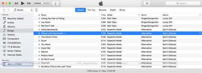 Cum transferăm muzică din calculator pe iPhone