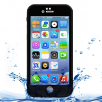 Vodotesný obal / kryt pre Apple iPhone 8 / 7 - čierny s diamantovým vzorom