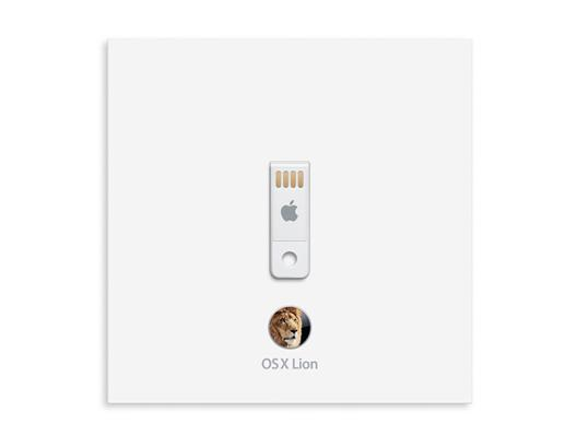 Apple Mac OS X 10.7 Lion USB Drive