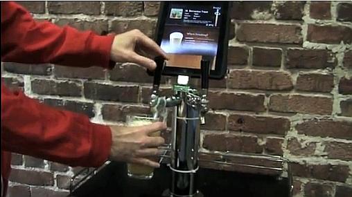 iPad cerveza