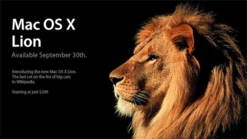 OS X versión 10.7