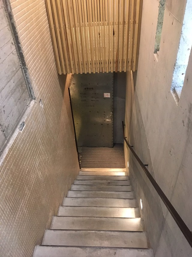 boven stairs