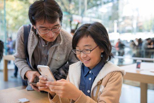 iPhone in tokyo