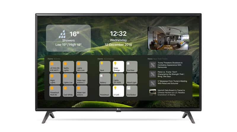 DayView – HomeKit aplikace pro Apple TV
