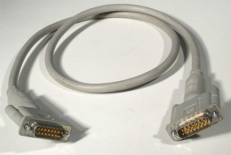 Apple Monitor Cord : Macintosh monitor cable apple rescue of denver