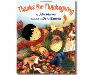Thanks for Thanksgiving - Thanksgiving Books for Kids