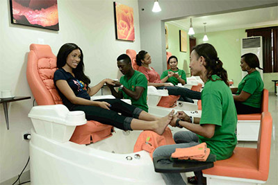 Apples  Oranges  Total Body  Wellness Therapy  Unisex Salon and Spa  Lagos Nigeria