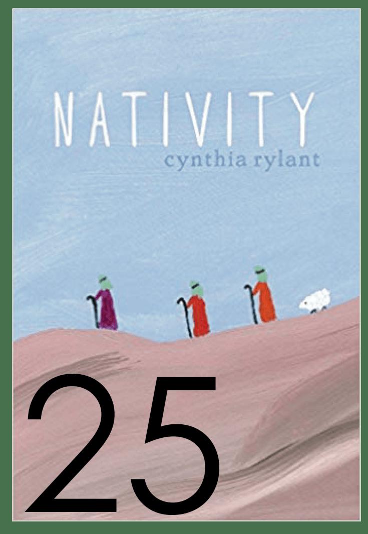 Nativity Christmas and Holiday Book Countdown