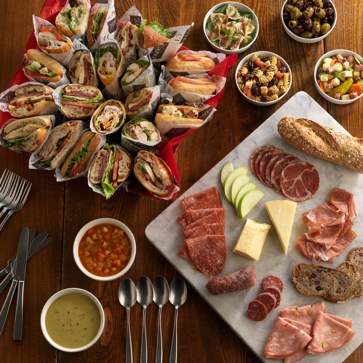 catering menu ideas for