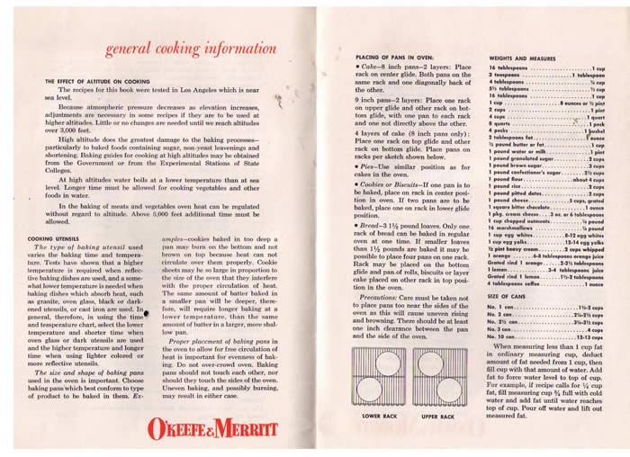 OKeefe  Merritt Manual