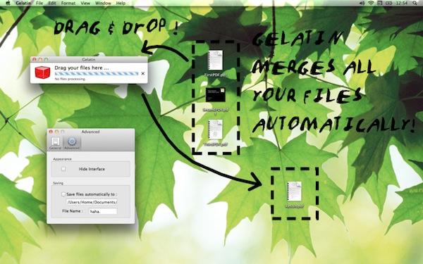 Gelatin: Eenvoudig PDF Bestanden Samenvoegen