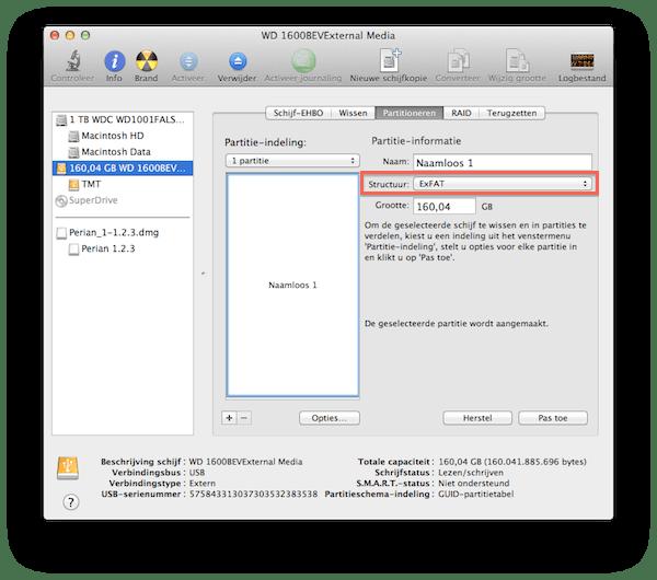 Harde Schijf Splitsen Windows 7.Een Usb Stick Formatteren Voor Mac En Windows Appletips