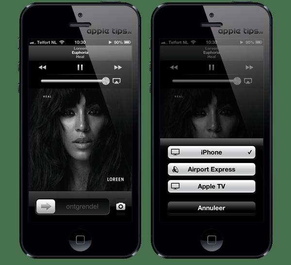 iphone airplay aktivieren
