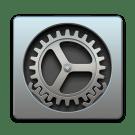 systeemvoorkeuren OS X icoon
