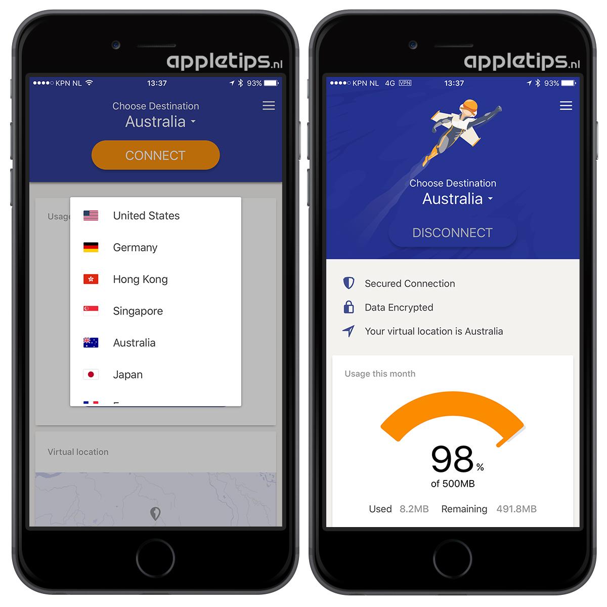 Rocket Vpn Geografisch Content Bekijken In Ios Appletips