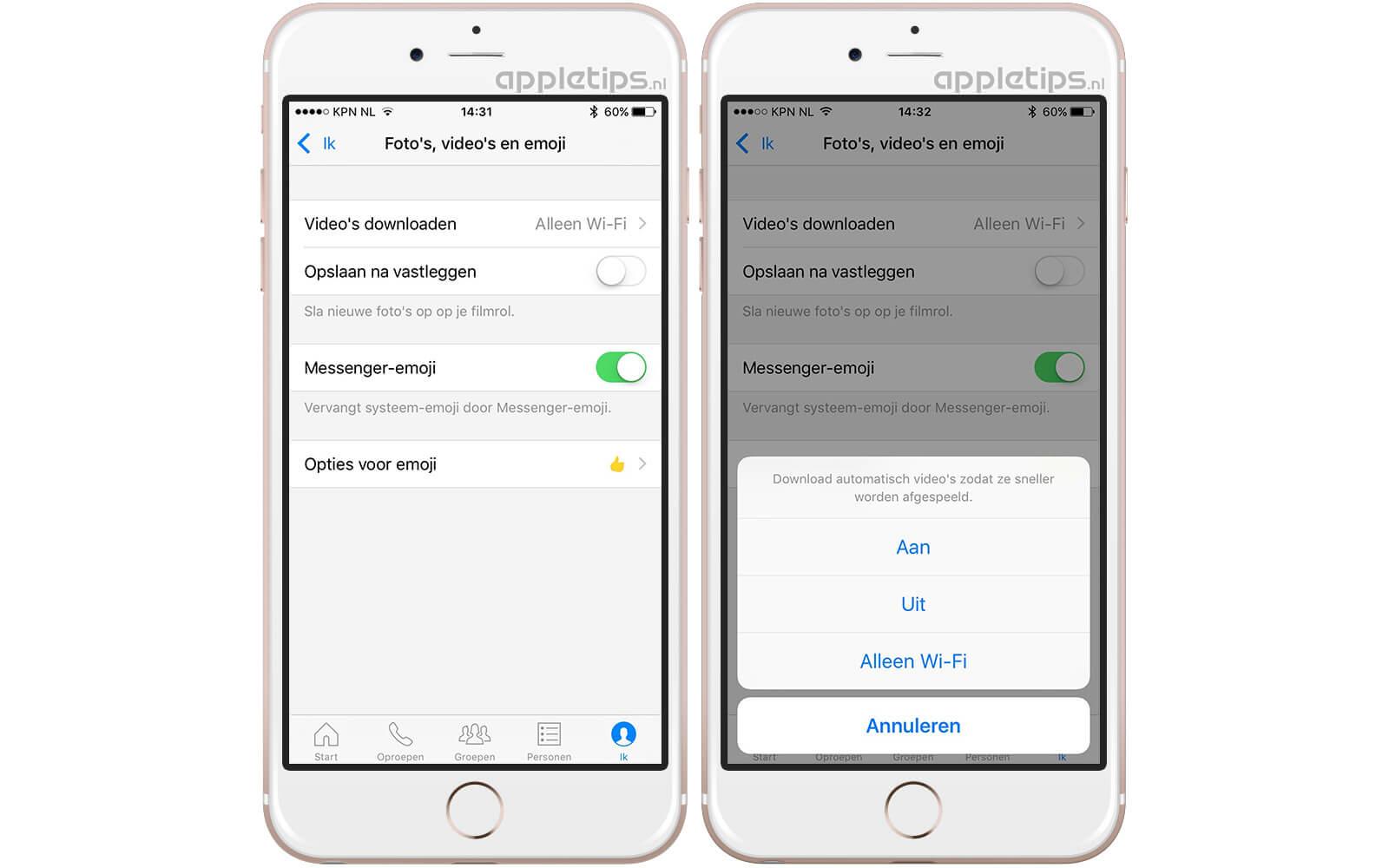7e6d3c8be7e456 Vervolgens zal er een pop-up menu tevoorschijn komen. Je krijgt drie keuzes  te zien waarmee je het automatisch downloaden aan of uit kunt zetten. De  optie ' ...