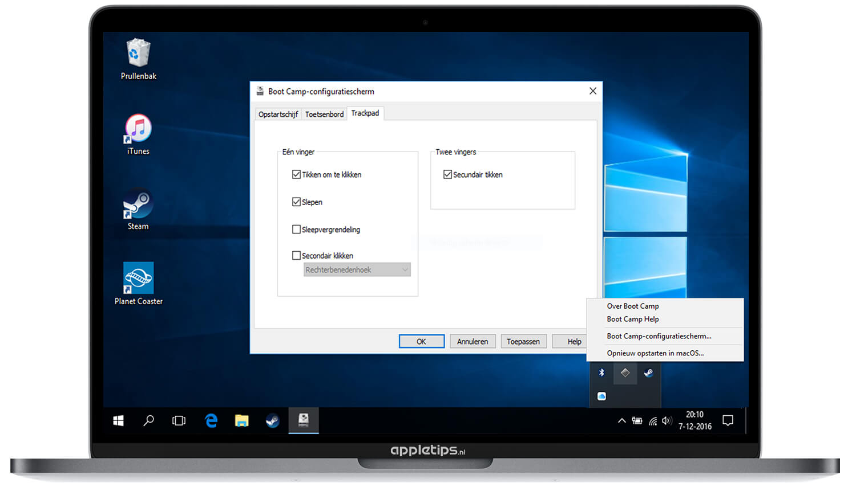Windows bootcamp mac opstarten | Use Windows in Bootcamp