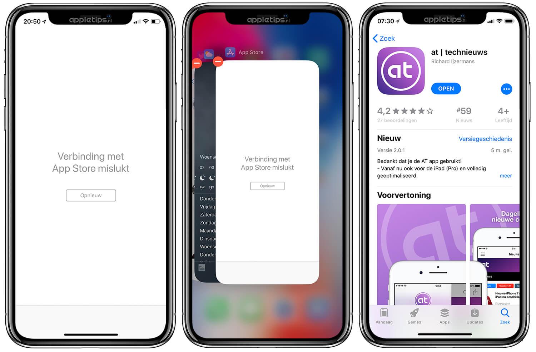 Verbindingsproblemen Met De Ios App Store Oplossen Appletips