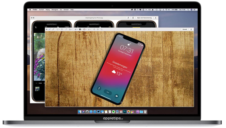 Direct bestanden bewerken vanuit Quick Look op een Mac