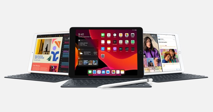 iPad 7e generatie 2019 met 10,2-inch scherm