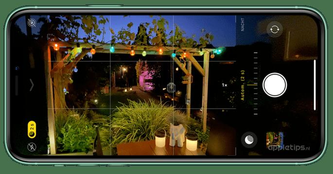 Iphone 11 Nachtmodus
