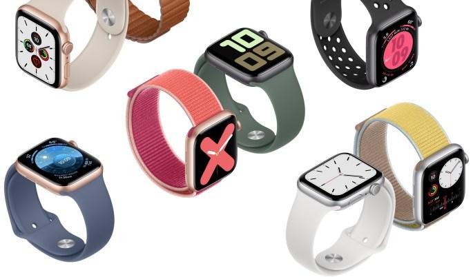 nieuwe Apple Watch series 5