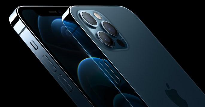 iPhone 12 pro oceaanblauw