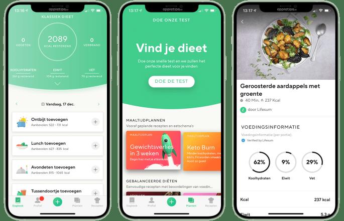 De beste calorieën- en voedingstrackers in de App Store - appletips