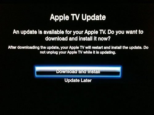 apple tv 4 2 1 update Apple Updates Apple TV 2 Firmware to 4.2.2, Untethered Jailbreak is Already Out