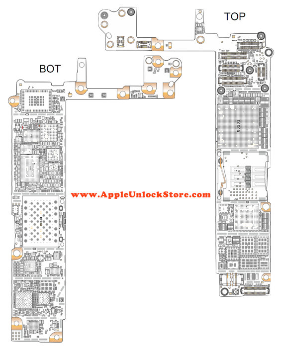 AppleUnlockStore :: Service Manuals :: iPhone 6 Circuit